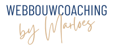 Webbouwcoaching By Marloes